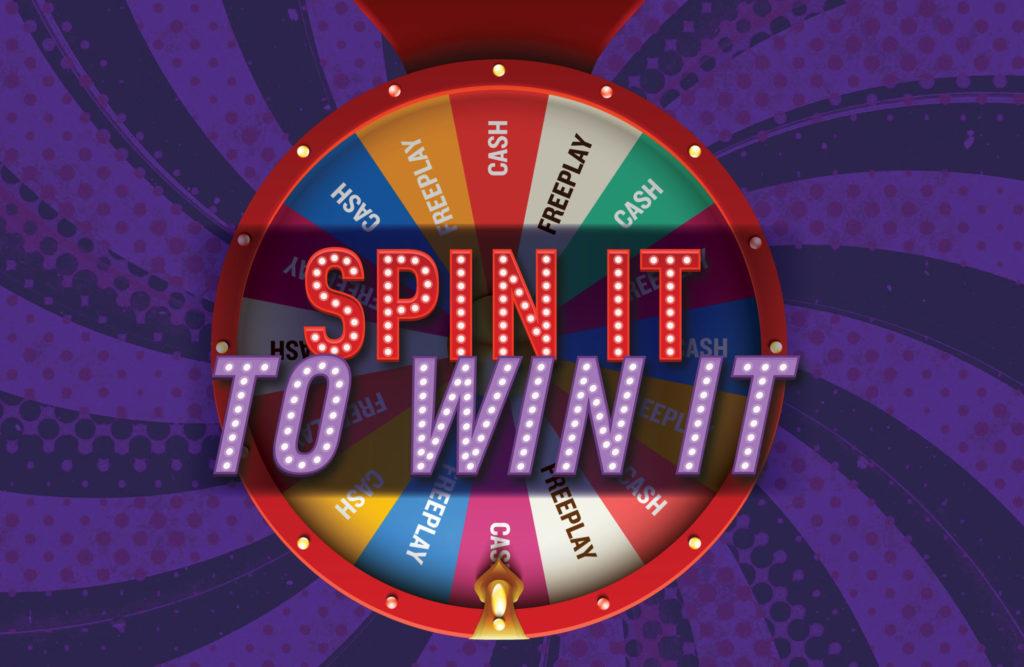 Spin It To Win It « Sac & Fox Casino